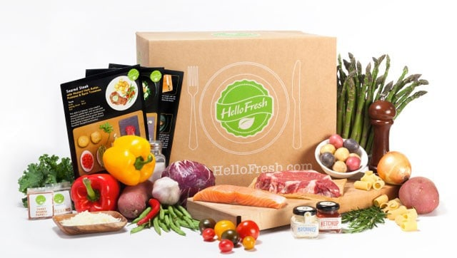 HelloFresh Meal Box