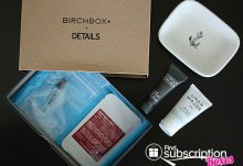 July 2014 Birchbox Man Box Review - Box Contents
