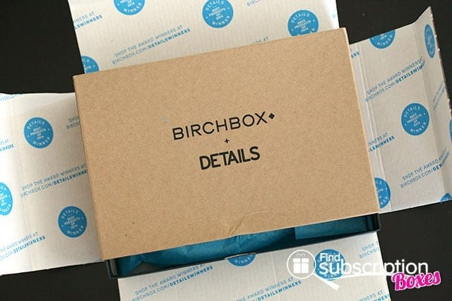 July 2014 Birchbox Man Box Review - Inner Box