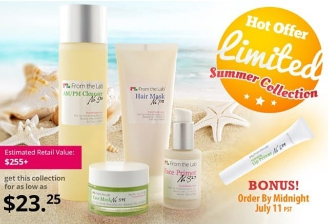 July 2014 From the Lab Box Spoiler - Limited Edition Summer Essentials Collection
