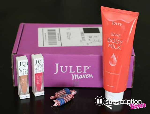 Julep 2014 Julep Maven Classic with a Twist Box Review - Box Contents