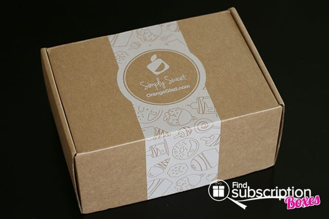 July 2014 Orange Glad Box Review - Outer Box