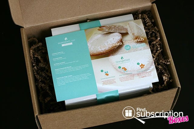 July 2014 Orange Glad Box Review - Product Information Card