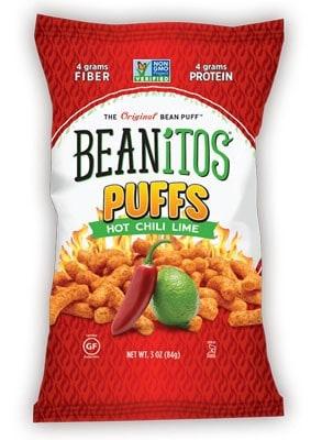 July 2014 Vegan Cuts Snack Box Spoiler - Beanitos Puffs