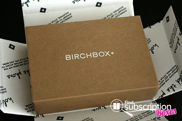 June 2014 Birchbox Box Review - Inner Box