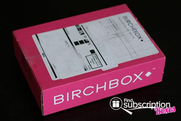 June 2014 Birchbox Box Review - Outer Box