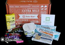 June 2014 Bulu Box Weight Loss Box Review - Box Contents