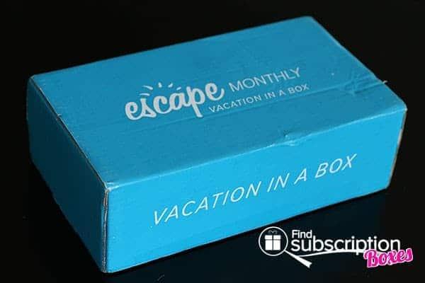 June 2014 Escape Monthly Box Review - Box