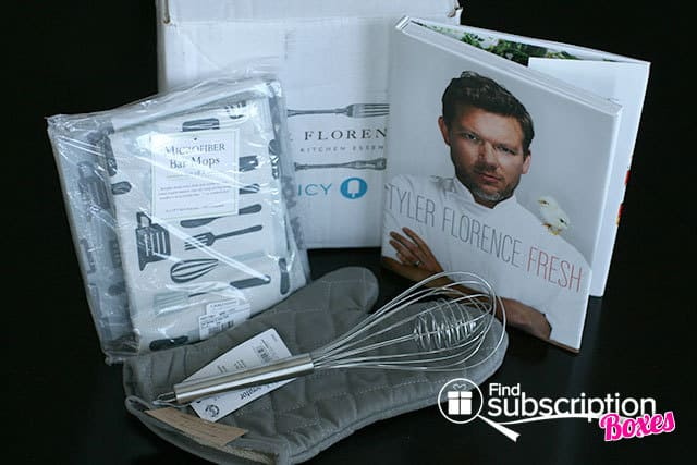 June 2014 Tyler Florence Fancy Box Review - Box Contents