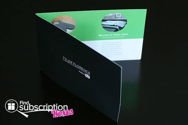 June 2014 Tyler Florence Fancy Box Review - Product Card