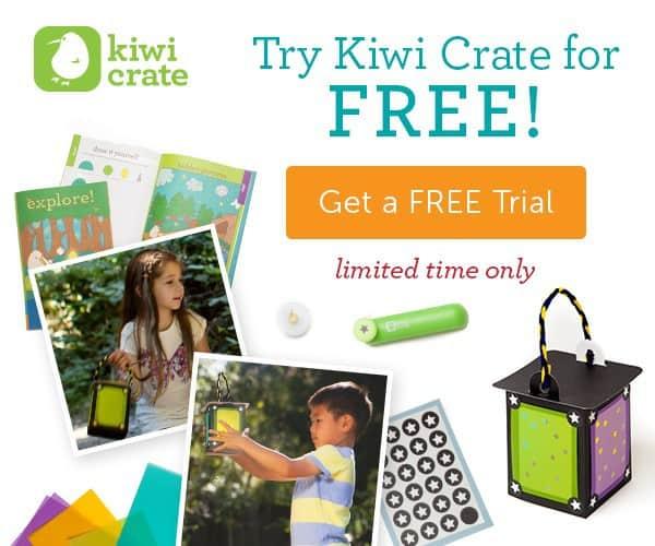 Kiwi Crate FREE Trial My Starlight Lantern Crate