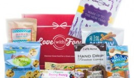 Love with Food FREE Trial – First Box is FREE, Just Pay $2 Shipping