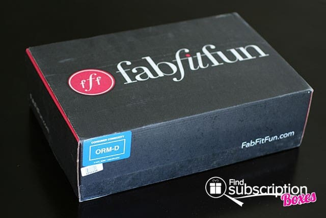 Summer 2014 FabFitFun VIP Box Review - Box