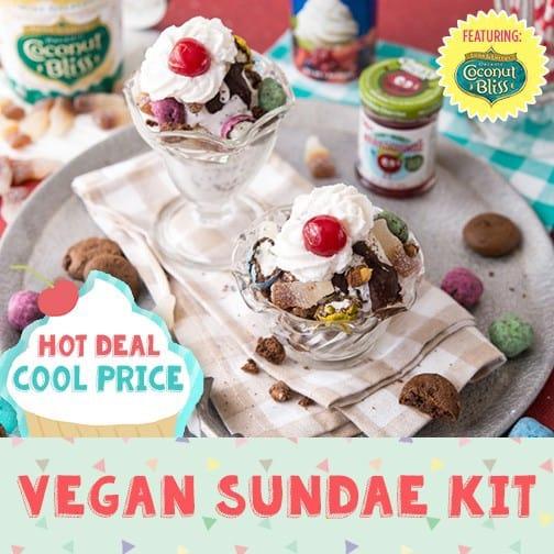 Vegan Cuts Coconut Bliss Vegan Sundae Kit