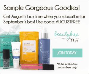 Beauty Box 5 FREE Box