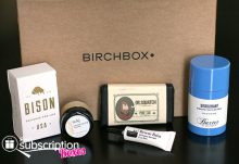 August 2014 Birchbox Man Box Review - Box Contents