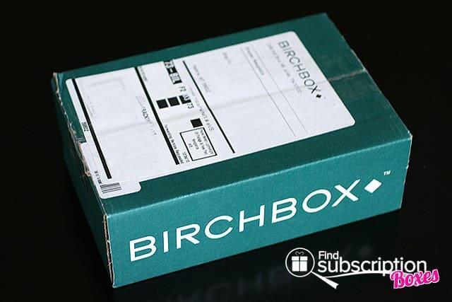 August 2014 Birchbox Man Box Review - Outer Box