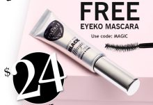 August 2014 GLOSSYBOX Free Gift - Eyeko Mascara