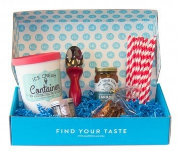August 2014 Hamptons Lane Ice Cream Sundae Bar Box
