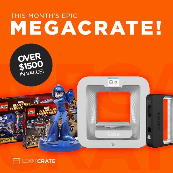 August 2014 Loot Crate Mega Crate