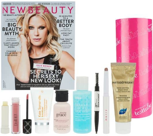 August 2014 QVC New Beauty Test Tube Box Spoilers