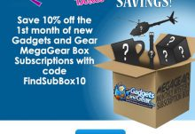 Gadgets and Gear MegaGear Box Coupon