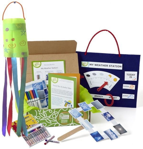Green Kid Crafts Monthly Subscription Box