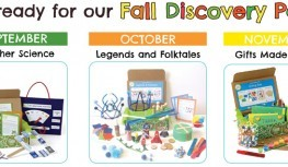 Green Kid Crafts Fall Discovery Pack Box Spoilers