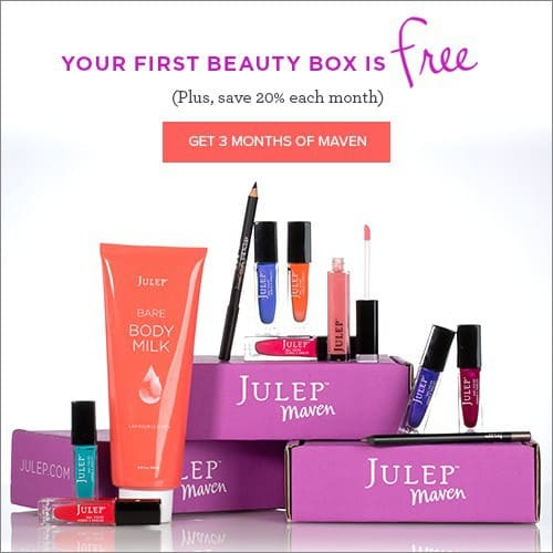 Julep Maven 3 Month Subscription - 1st Box FREE