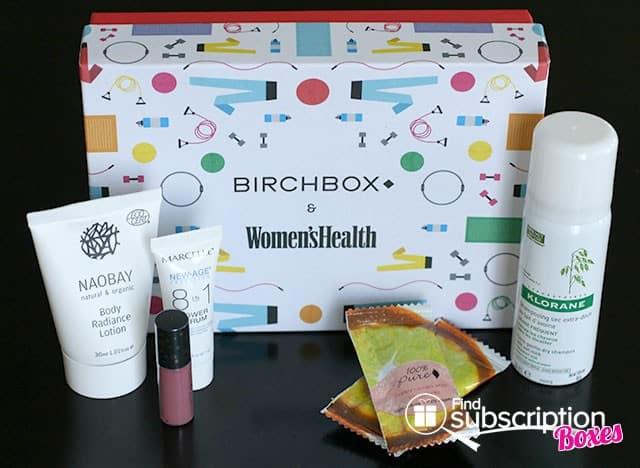 July 2014 Birchbox Box Review - Box Contents
