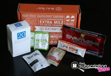 July 2014 Bulu Box Weight Loss Box Review - Box Contents