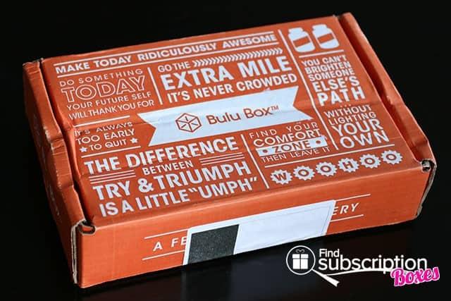 July 2014 Bulu Box Weight Loss Box Review - Box