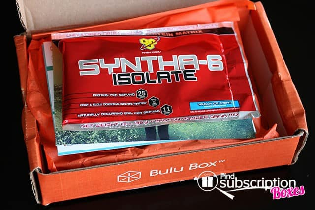 July 2014 Bulu Box Weight Loss Box Review - First Look