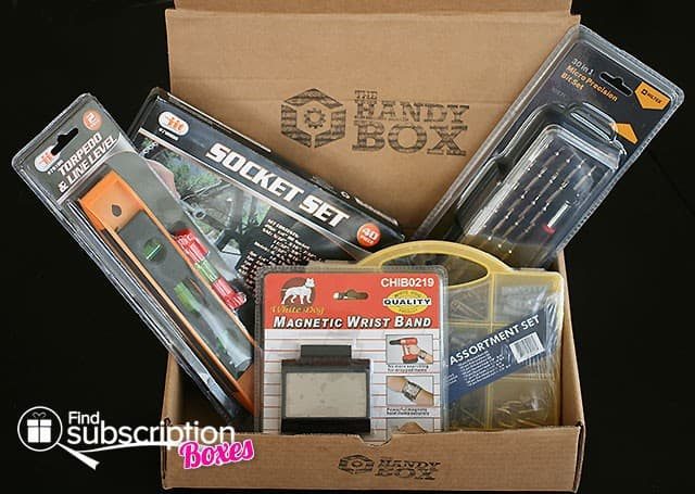 July 2014 The Handy Box Review - Box Contents