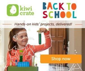 Kiwi Crate Back to School Sale