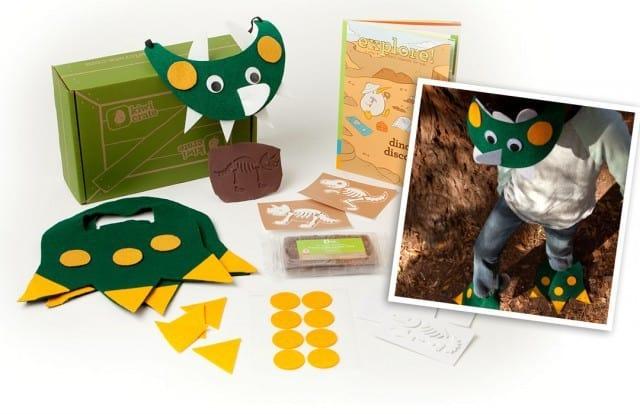 November 2014 Kiwi Crate Box Spoilers - Discovering Dinosaurs