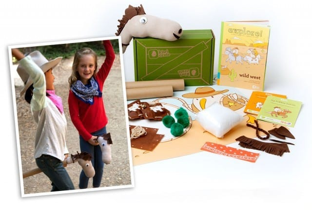 October 2014 Kiwi Crate Box Spoilers - Wild West