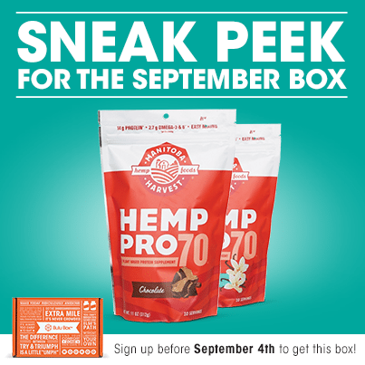 September 2014 Bulu Box Spoiler - Hemp Pro 70