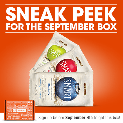 September 2014 Bulu Box Spoiler - Detour Smart Bars
