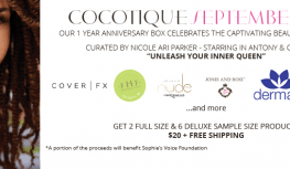 September 2014 COCOTIQUE Box Spoilers & Theme Reveal