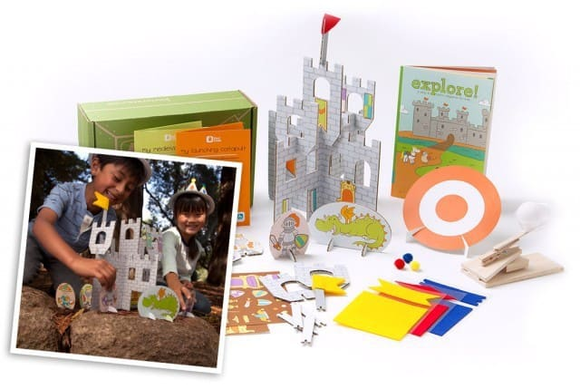 September 2014 Kiwi Crate Box Spoilers - Castles & Catapults