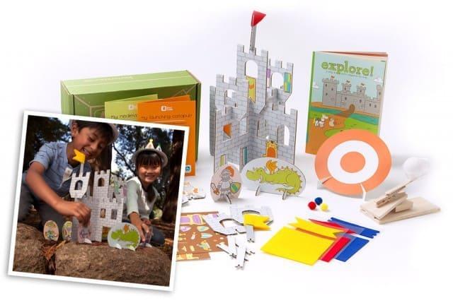 September 2014 Kiwi Crate Box Spoilers - Castles & Catapults