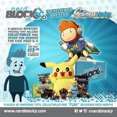 September 2014 Nerd Block Jr. Boys Box Spoiler - Scribblenauts