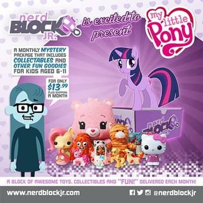 September 2014 Nerd Block Jr. Girls Box Spoiler - My Little Pony