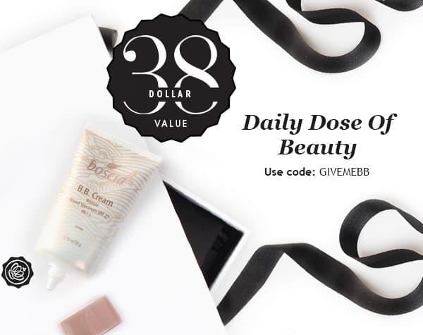 GLOSSYBOX Daily Dose of Beauty Free Gift - Boscia BB Cream