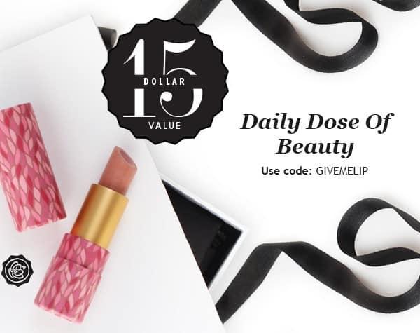 GLOSSYBOX Daily Dose of Beauty Free Gift - Tarte Brightening Lipstick