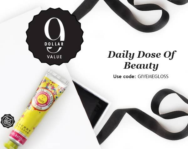 GLOSSYBOX Daily Dose of Beauty Free Gift - Figs & Rouge Cherry Blossom Lip Balm