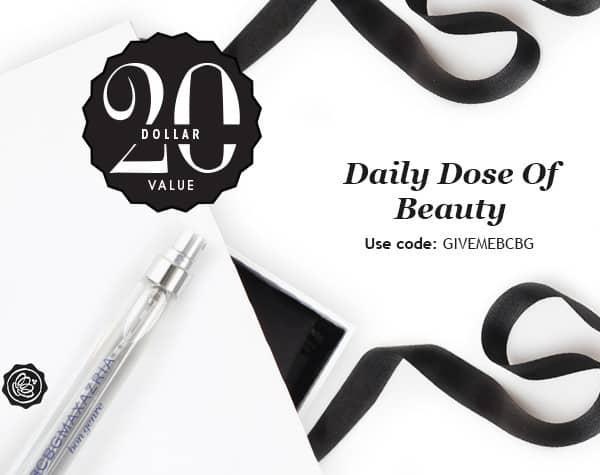 GLOSSYBOX Daily Dose of Beauty Free Gift - BCBG's Bon Genre Eau de Parfum Spray