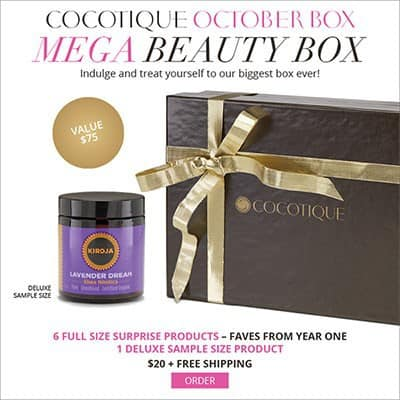 October 2014 COCOTIQUE Box Spoiler - Shea Nilotica