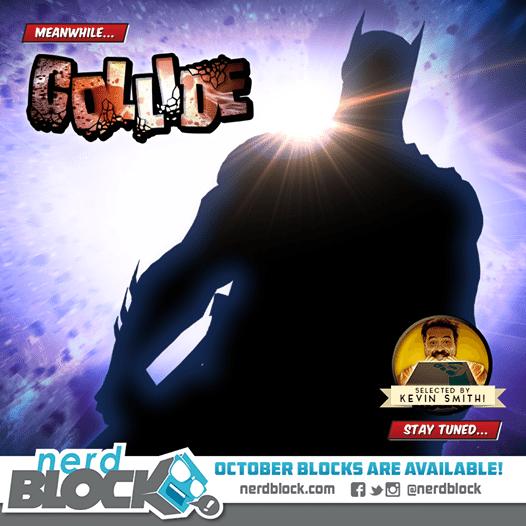 October 2014 Nerd Block Box Spoiler - Batman